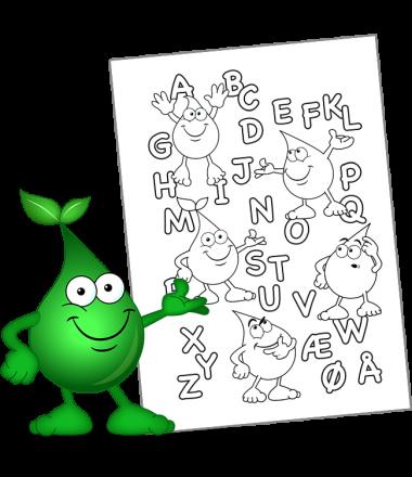 LÆR BOGSTAVERNE AT KENDE - Kan du genkende alfabetet?