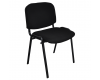 Kantine- og konferencestol sort, polstret (23024311-05)